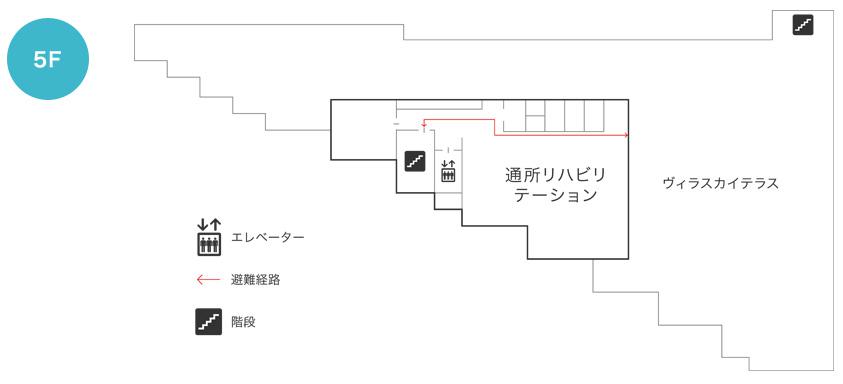 フロアマップ5F
